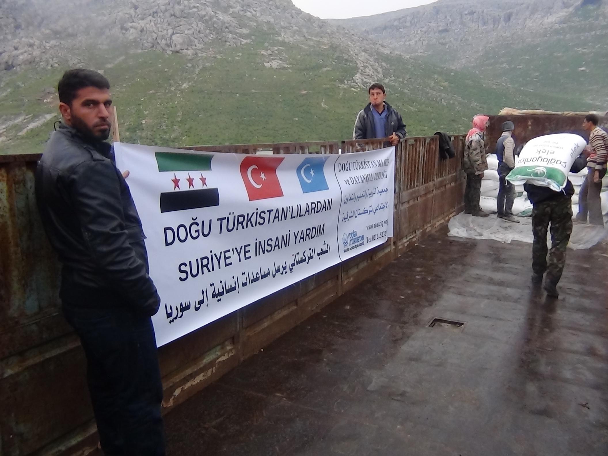 Photo of مساعدات إنسانية من الجمعية إلى الشعب السوري
