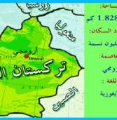 مساحة تركستان الشرقية وأهميتها