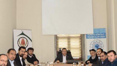 Photo of اجتماع مع المنظمات الأهلية من تركستان الشرقية