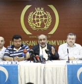 Press release made on East Turkistan massacre
