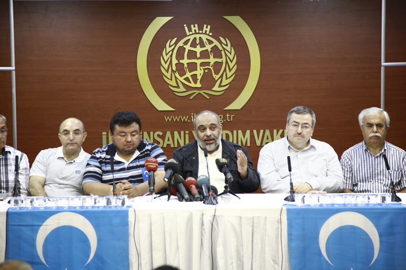 Press release about East Turkistan2