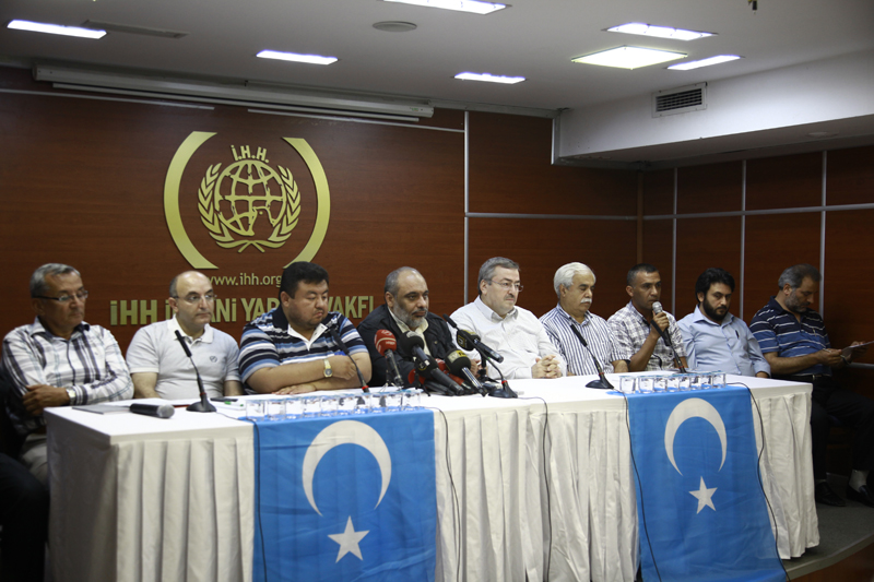 Press release about East Turkistan3
