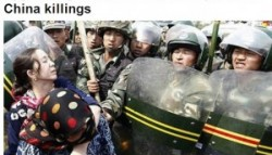 Uyghur organization wants int'l probe on China killings
