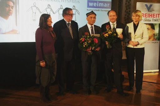 Uyghur Activist, Ilham Tohti, honoured with 2017 Weimar Human Rights Award