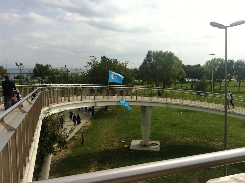 Istanbuldiki Uygurlar qurban heyit bayrimi 00010
